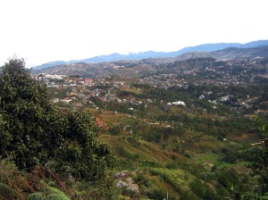 Overlooking Baguio City